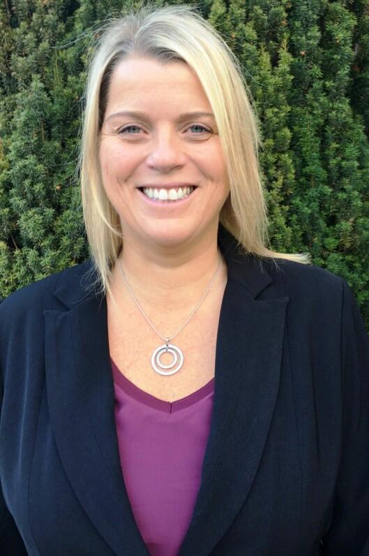 Sportssjef Anne Tufte i MTG..