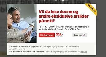Det er over 20 år siden norske aviser kom på nett, men fortsatt klarer vi ikke å selge enkeltartikler eller dagspass