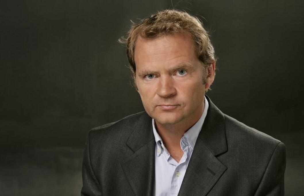 Knut Magnus Berge, her fra da han var utenriksredaktør i NRK.