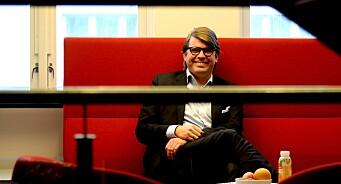Sigvald Sveinbjørnsson er netthodet som snakker varmt om papir. Han er den liberale stemmen som ble BA-redaktør. Og sitter gjerne i mange år til