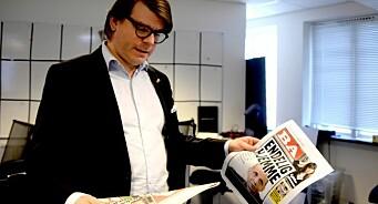 Du vil ikke tro hva Sigvald skal gjøre med BA nå: Trykke mer papir og lage en tykkere avis