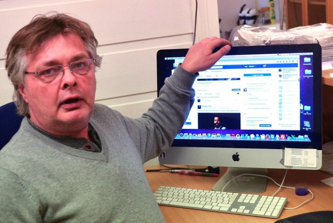 Inge Bjørn Hansen, redaktør og eier av Hålogaland Avis.