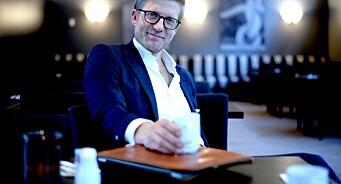 Svein Tore Bergestuen (42) jakter ikke den neste «drømmejobben». Satser for seg selv og skal jobbe fem timer om dagen