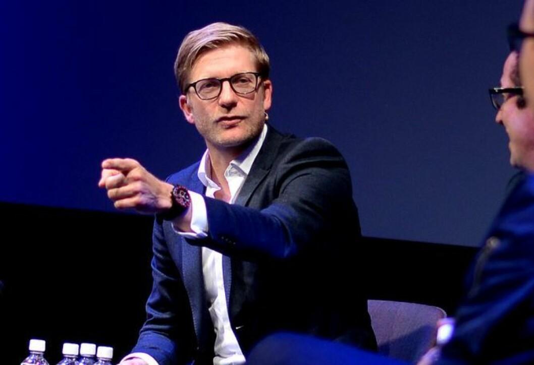 Svein Tore Bergestuen - her på Mediekonferansen i Tønsberg høsten 2016.