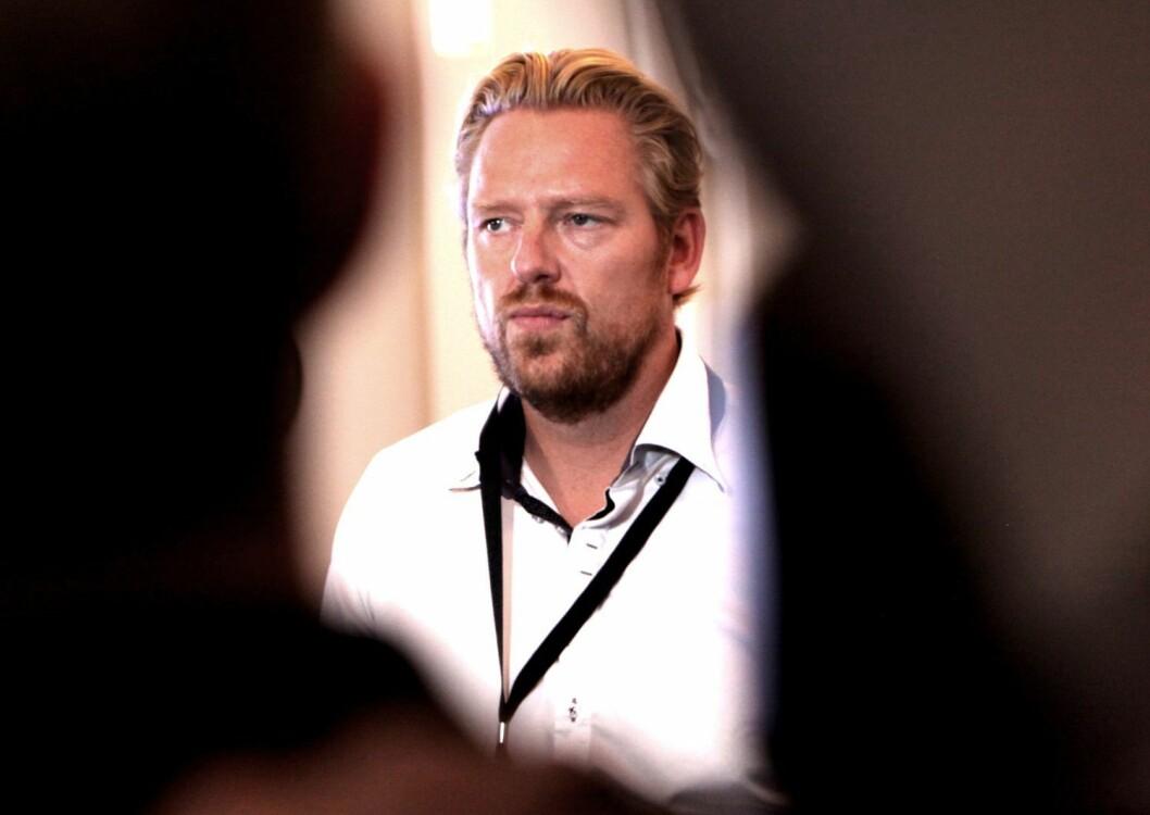 Nyhets- og sportsdirektør Jan Ove Årsæther i TV 2. Her etter allmøtet i Bergen for noen uker siden.