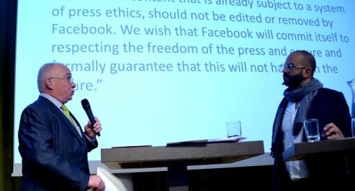 «Kjære Facebook, vi vil ikke følge reglene deres». Presseforbund fra 34 europeiske land ber om at redaktørstyrte medier ikke blir moderert