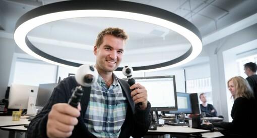 Nå bruker alle journalister i Teknisk Ukeblad VR-kamera på jobb