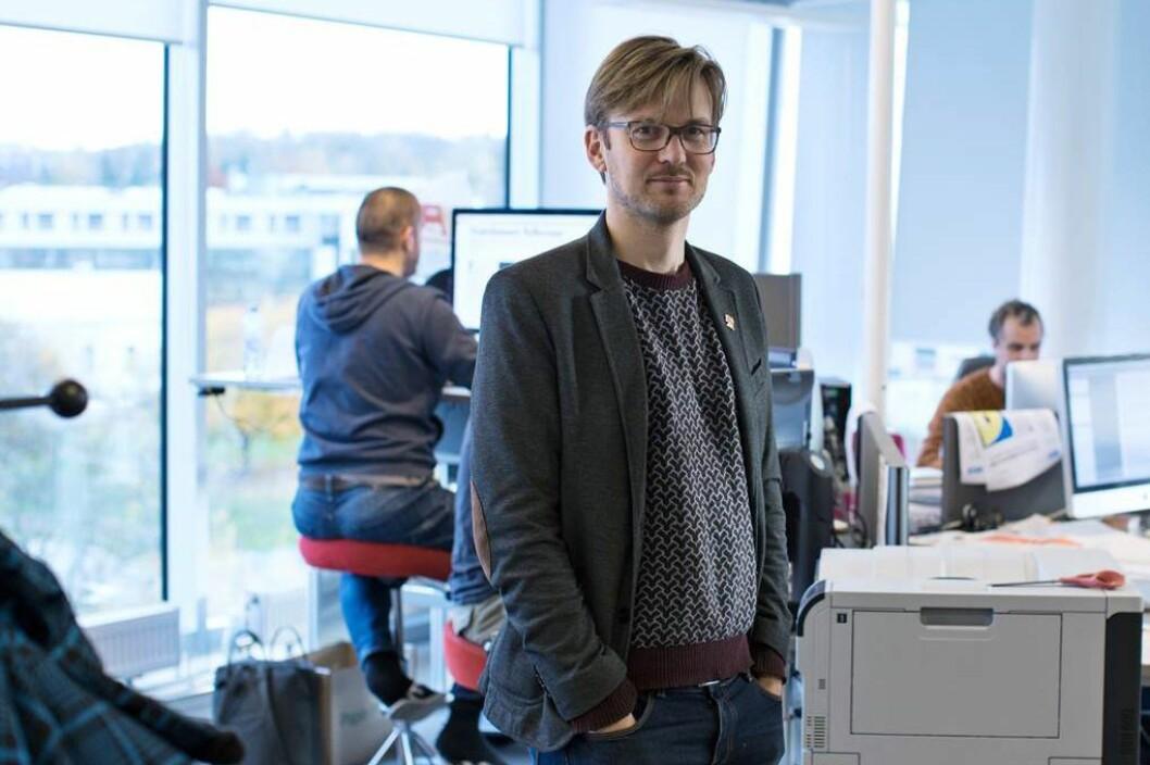 IVAR A. IVERSEN, redaksjonssjef i Morgenbladet.