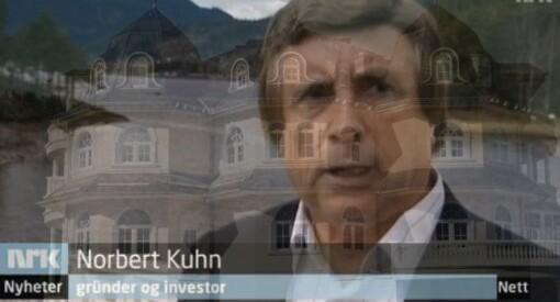 Når en nyrik tysker bygger slott i Valdres, ser vi hvor lett journalister lar seg blende av rikdom, bling og sjokolade