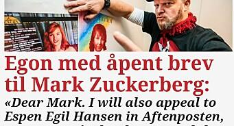Egon Holstad «raser» etter at Rolness ble kasta ut av Facebook: «I am extremely angry now»