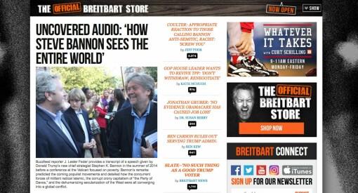 Human Right Service ønsker Breitbart velkommen til Norge. Mener de kan være en «hard tiltrengt, konservativ motvekt»