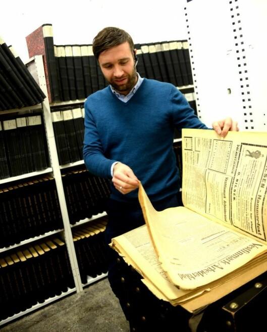 Arne Reginiussen, ansvarlig redaktør og direktør i Finnmark Dagblad.