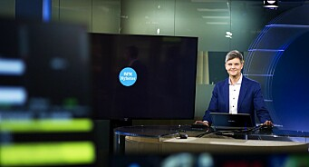 Her styrer programleder Odd Rune Wolden Midtnytt nesten på egen hånd. Nå rulles selvkjøring ut i hele NRK