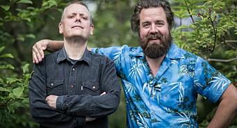 Etter snart 1000 timer med Rune Nilson og Torfinn Borkhus er det slutt. Lønsj tas av lufta på NRK P1