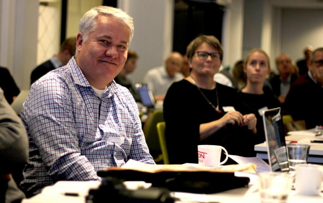 Ole Henrik Nissen-Lie, ansvarlig redaktør i Norsk Maritimt Forlag.
