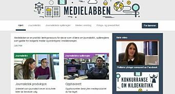Skal gjøre unge bevisste på pressens rolle: MBL og Fagpressen lanserer Medielabben.no
