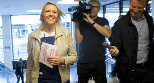 Mediene elsker å skrive om Sylvi Listhaug. Frp-ministeren danker ut alle partilederne – bortsett fra Erna