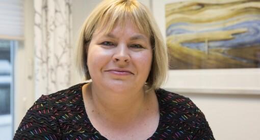 TV: Med skrekkblandet fryd gleder Elin Floberghagen seg til å bli generalsekretær i Norsk Presseforbund