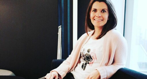 Kamille vil også vise «Sunn fornuft» - knytter seg til bloggplakat for sunnere omtale av mat, helse og kropp