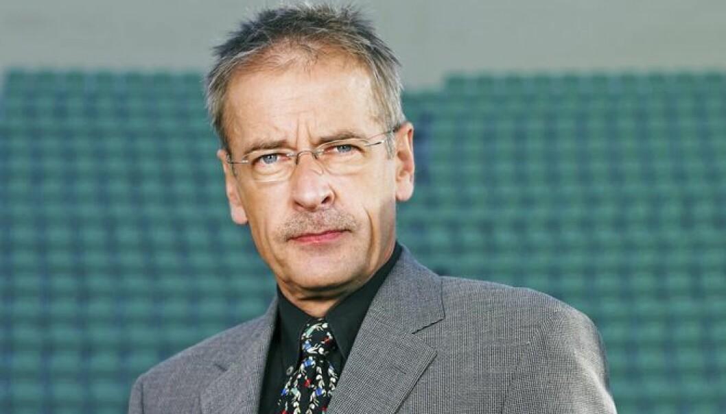 Ernst A. Lersveen, sportsreporter i TV 2.