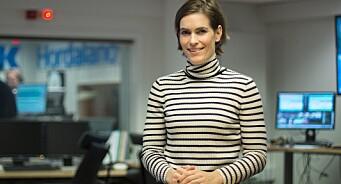 Nei, NRK er ikke mikrofonstativ for NHO, svarer redaktør Dyveke Buanes på kritikken fra Aas Olsen