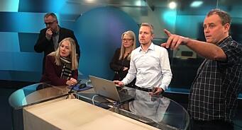Ny teknologi i NRK vekker internasjonal oppsikt - her lærer danske TV-folk om det nye selvkjøringssystemet