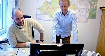 Lokale dørselgere ga Sandnesposten tidenes opplagsvekst. Og nå tjener avisa endelig penger