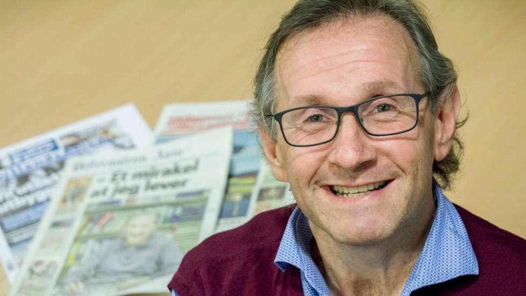 Geir B. Nilsen blir redaktør for VOL og de tre Polaris-eide lokalavisene i Vesterålen.