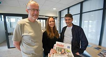 På valentinsdagen fullbyrdes et planlagt ekteskap i Trøndelag: To lokalaviser blir til én og «Bladet» ser dagens lys