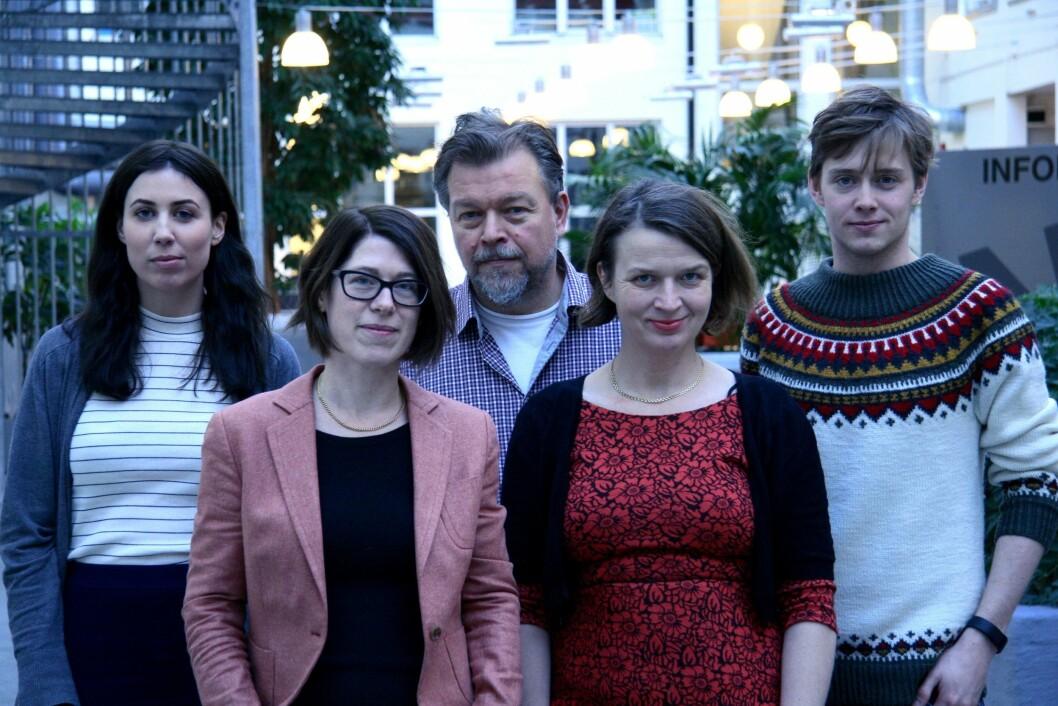 Den gang da: Slik så det ut hos Munck Studios da de var fulltallige på kontoret i Trondheim for noen år siden.