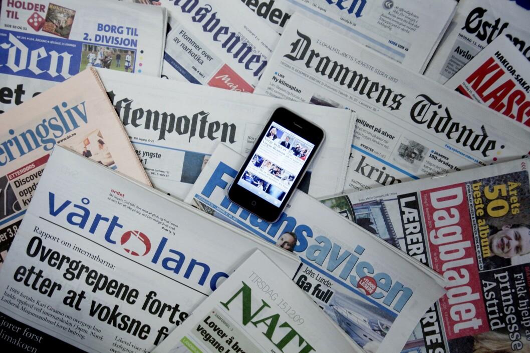 Den kristne ukeavisen Norge IDAG får likevel pressestøtte. Illustrasjonsfoto.
