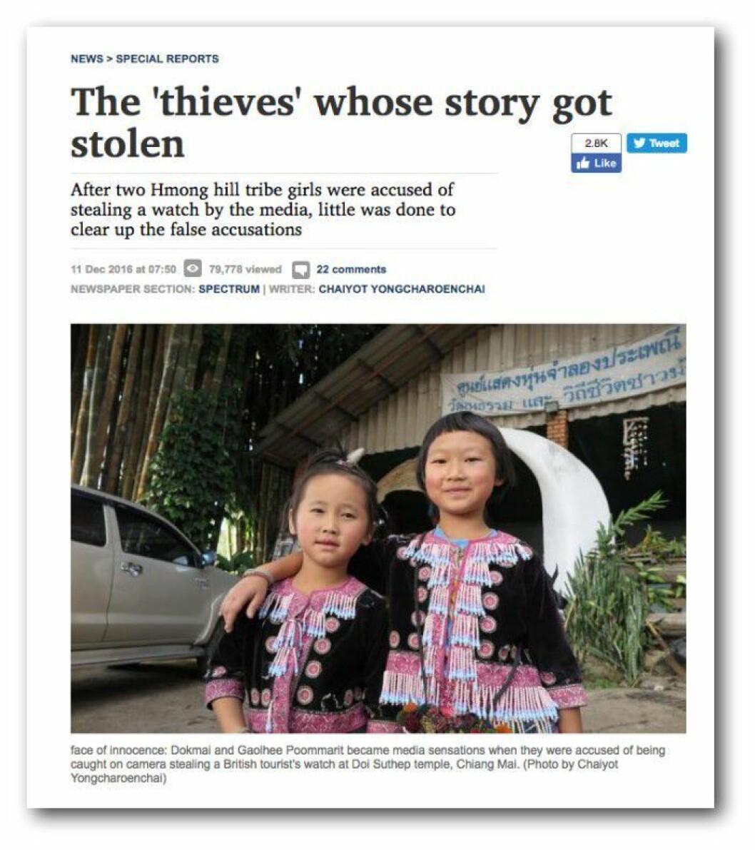 Fra Bangkok Post.