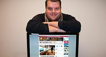 Finnmarken-journalist blir redaktør i Kirkenes: Ole-Tommy Pedersen (33) tar over kriserammet lokalavis