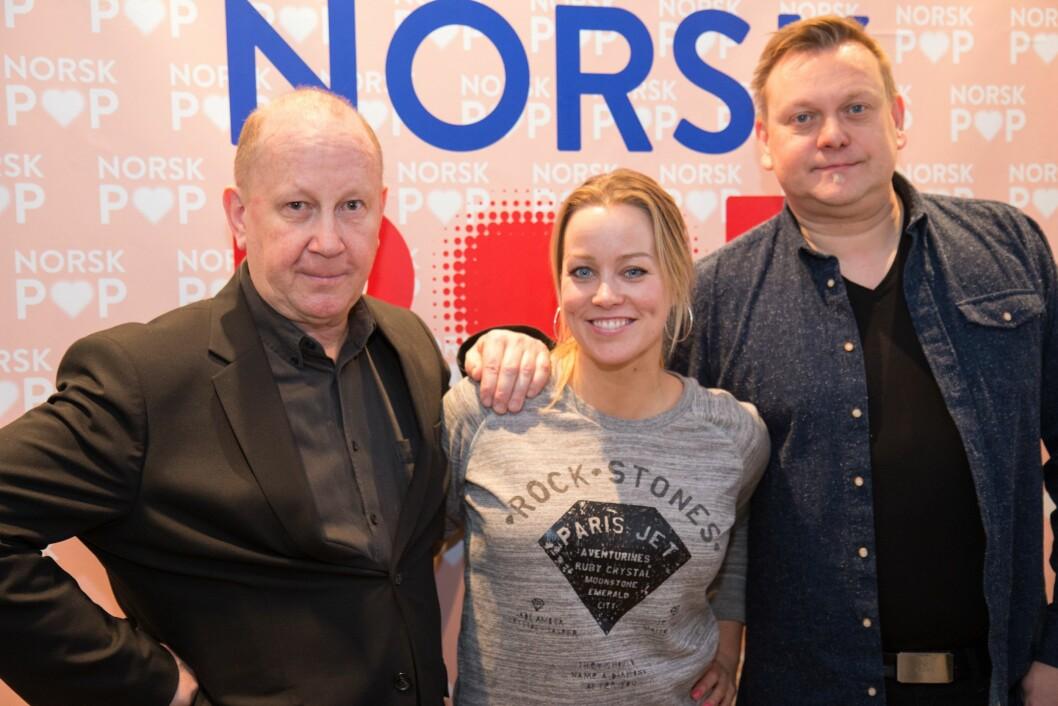 Erfarent team: Programlederne Bjørn Gundersen, Hanne Sørvaag og Michael Øvermo-Skorbakk kommer på Radio Norsk Pop fra nyåret.