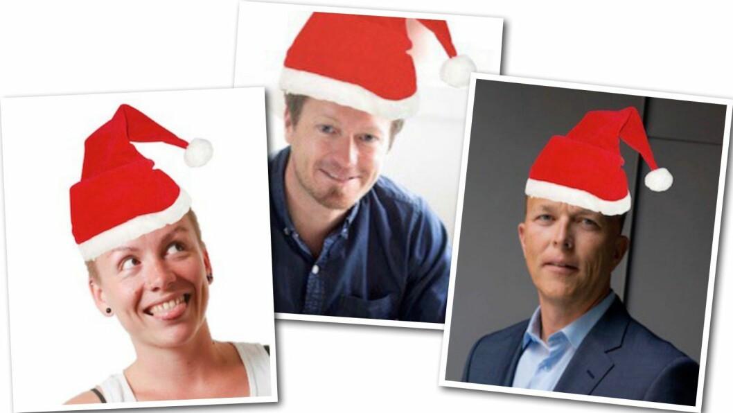 ØNSKEREPRISER: MediaPuls med et gjenhør for nye og gamle lyttere, til Anita Schjøll Brede, Preben Carlsen og Nils Apeland.
