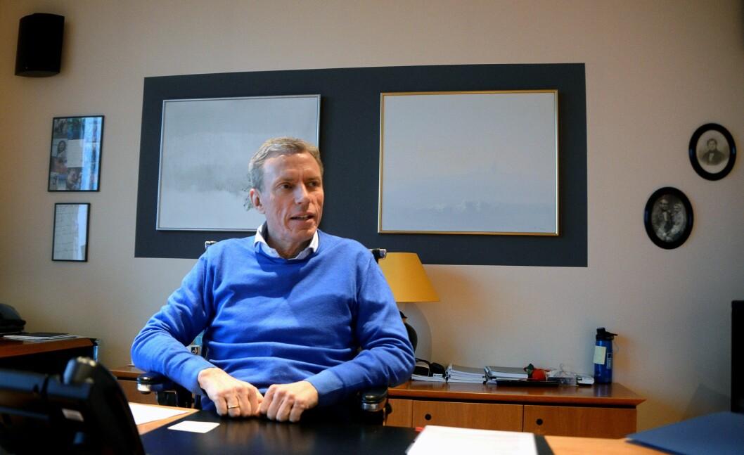 Konsernsjef Rolv Erik Ryssdal i Schibsted Media Group.