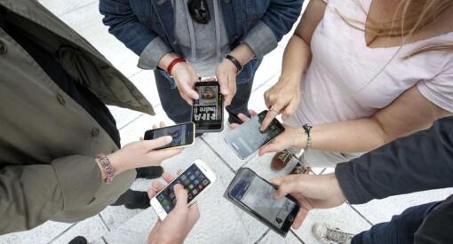Nå har 99 prosent av alle mellom 12 og 49 år en smarttelefon