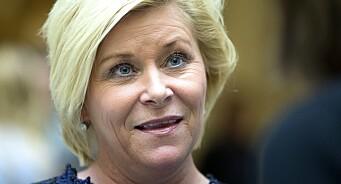 I år skal Siv Jensen også holde «nyttårstale». Tirsdag kveld møter finansministeren velgerne direkte på Facebook