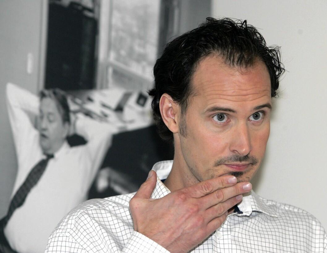 Journalist og forfatter Bjørn Olav Jahr - her under presentasjon for vel 10 år siden av boka «Smarte skurker, grådige gubber» om Finance Credit-saken.