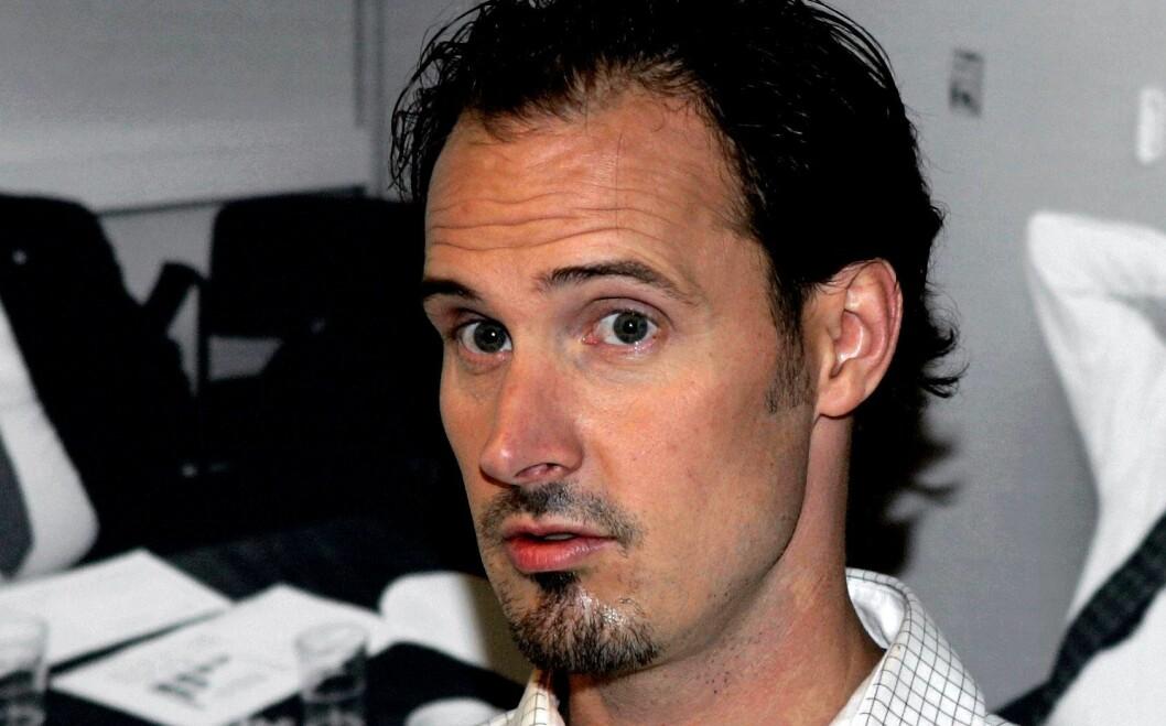 Bjørn Olav Jahr - under en bokpresentasjon for noen år siden.