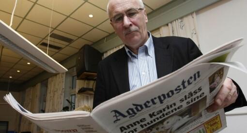 Tidligere Agderposten-redaktør Stein Gauslaa (68) er død