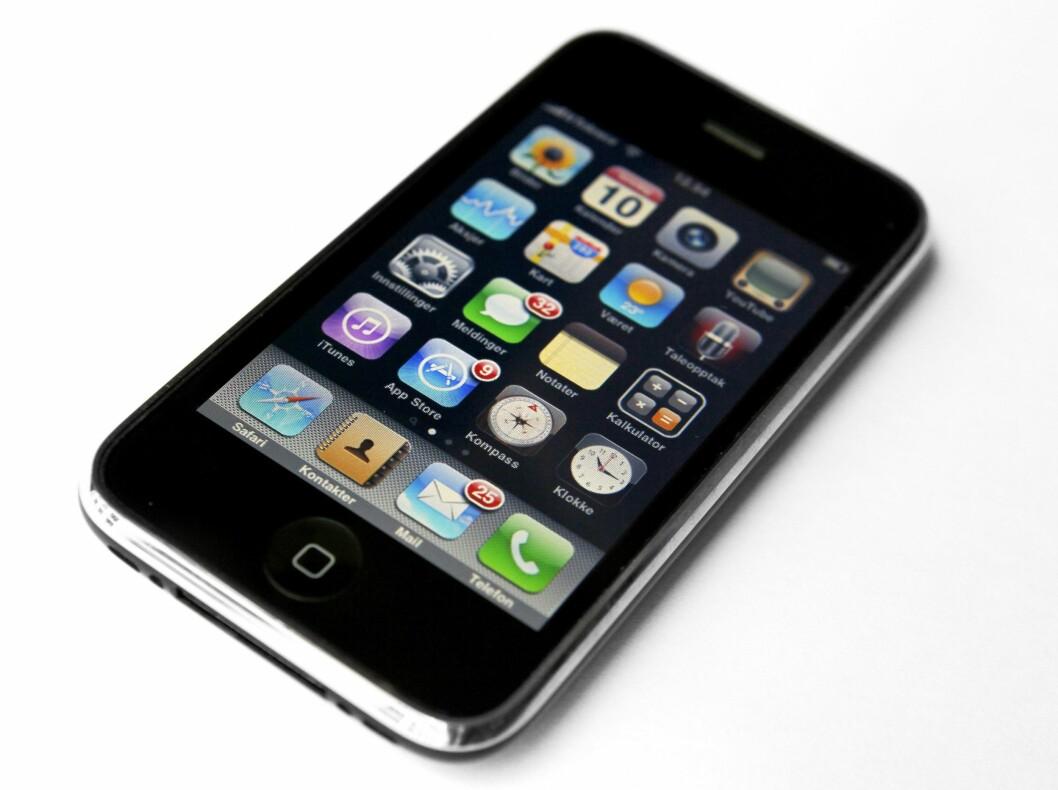 En av de tidlige iPhone-modellene.