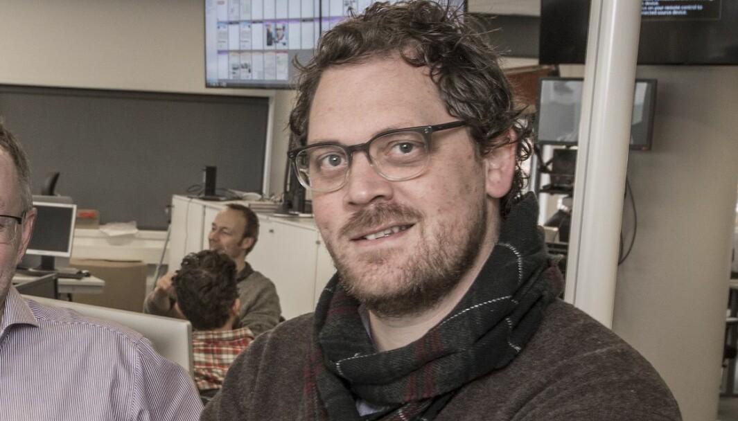 Klubbleder i Dagbladet, Anders Holth Johansen.