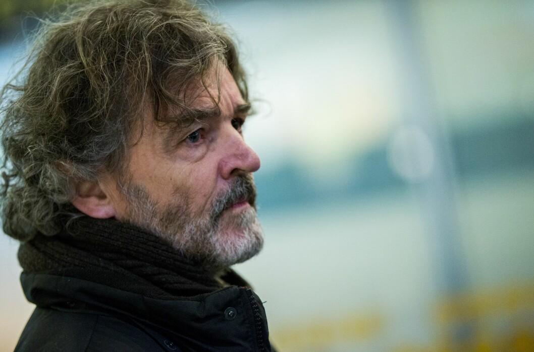 Ny Tid-redaktør Truls Lie. Bildet er tatt våren 2016 i forbindelse med hjemkomsten til journalist Øystein Windstad etter et angrep i Ingusjetia.