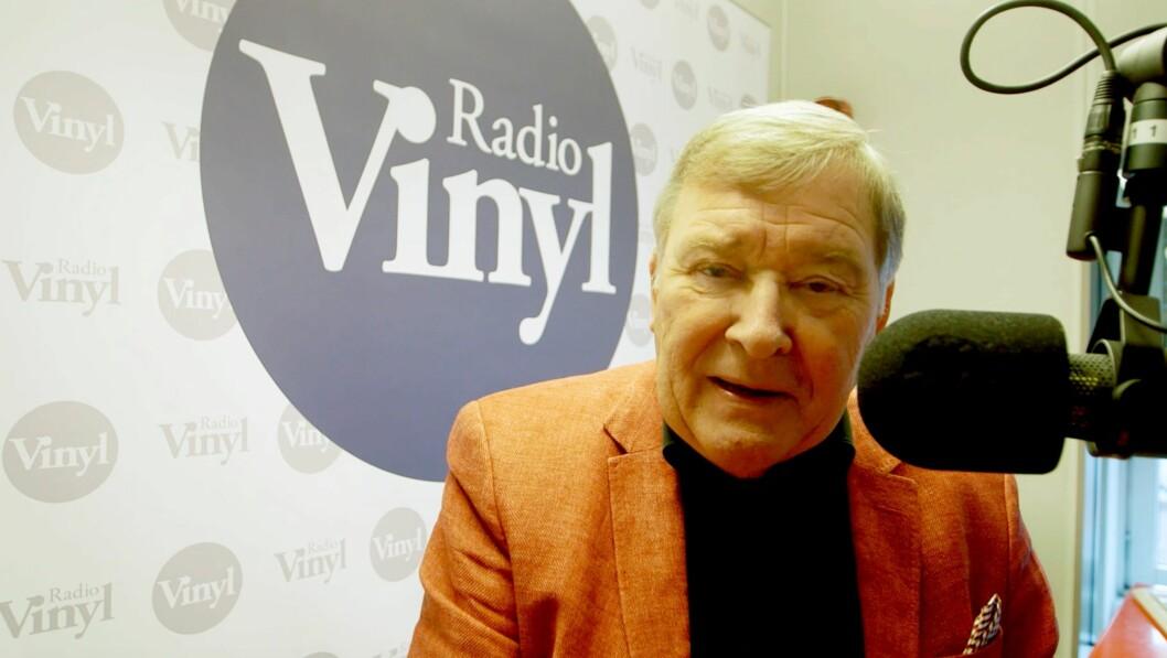 Programleder Vidar Lønn-Arnesen i Radio Vinyl.