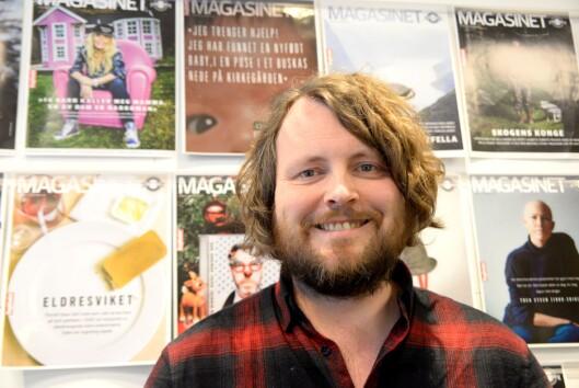Featurejournalist Bernt Jakob Oksnes i Dagbladet står bak årets store Dagblad-satsing, Gutten i plastposen. Han har vunnet prisen en gang før - kan han ta den igjen?