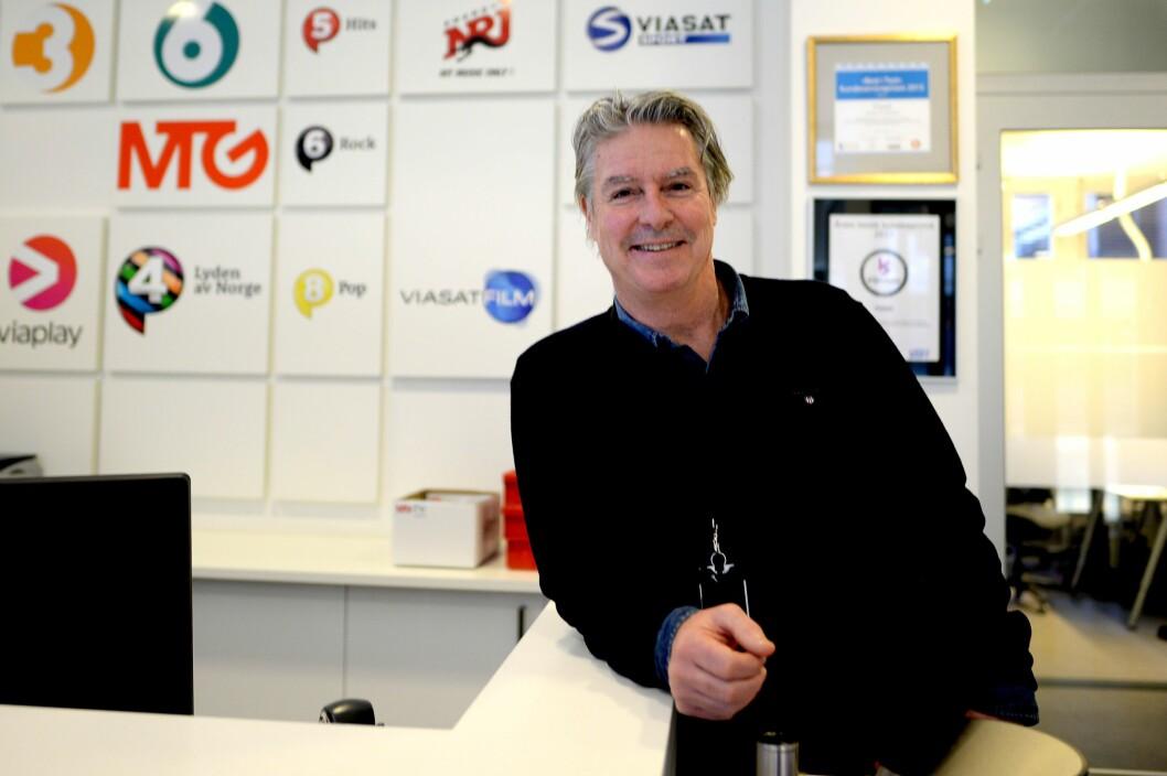 Morten Aass - ny administrerende direktør for MTG Norge.