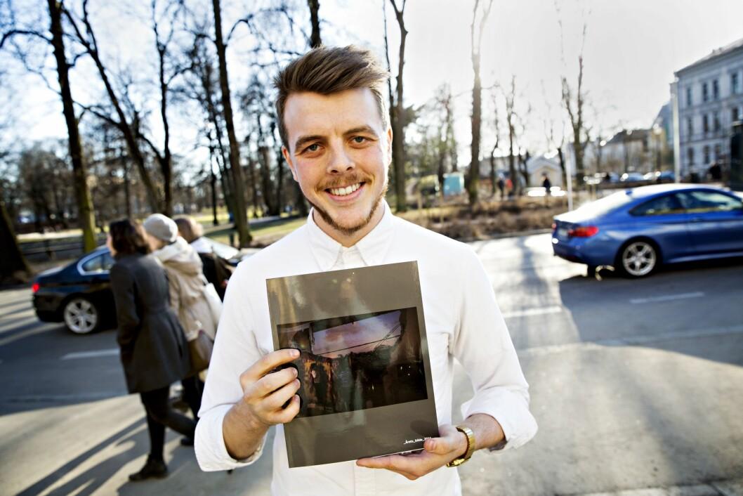 Kyrre Lien - her som mottaker av Årets bilde for noen år siden.
