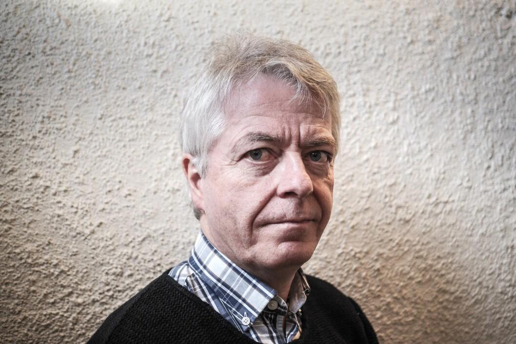 Redaktør og daglig leder Andreas Reitan i Nea Radio.