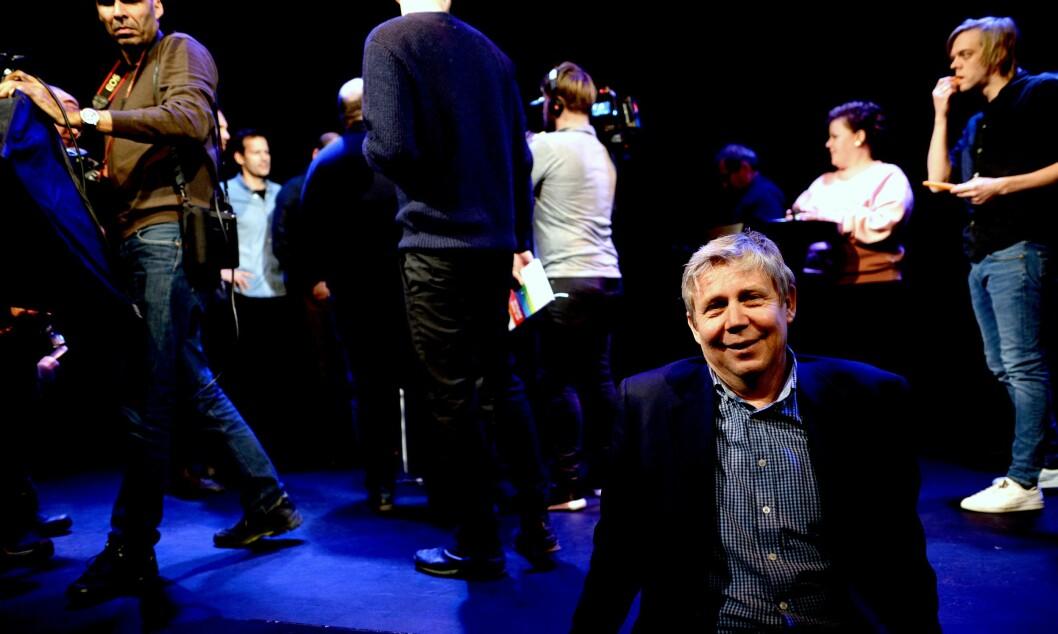Programdirektør Eivind Landsverk i Discovery Networks Norge er fornøyd med å lansere flaggskipet Mandagsklubben igjen.